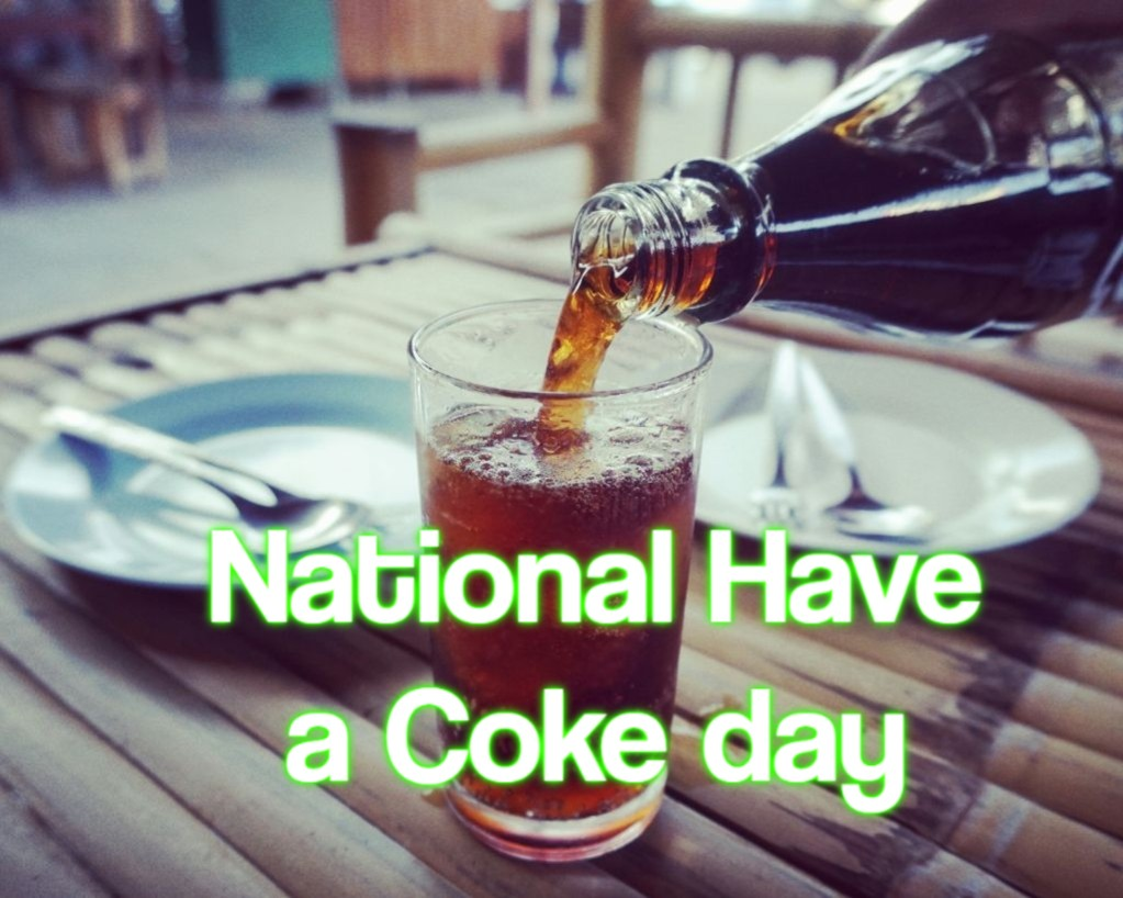 National Have a Coke day