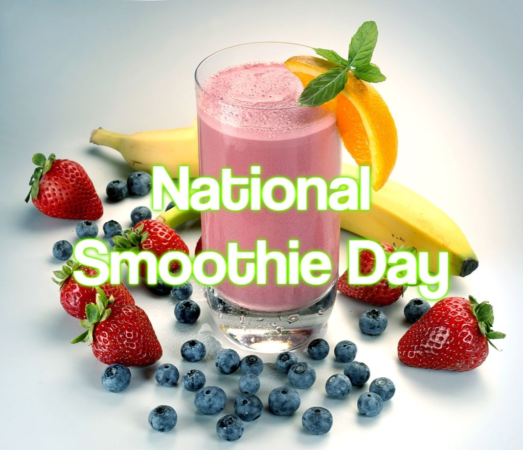 National Smoothie Day