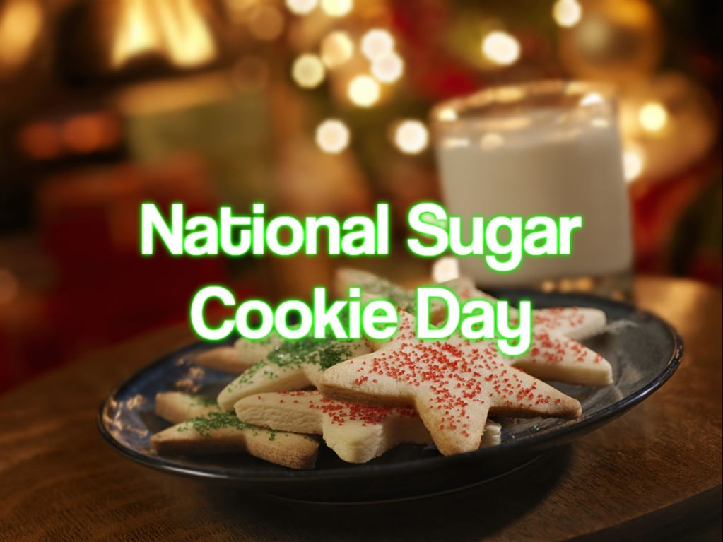 National Sugar Cookie Day