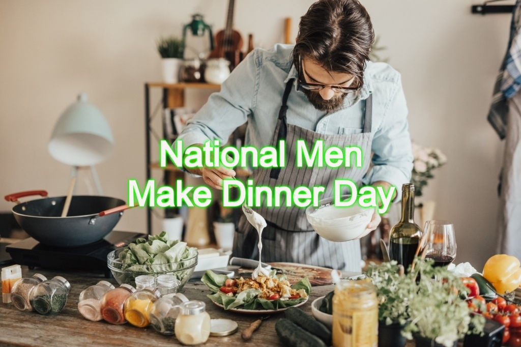 National Men Make Dinner Day